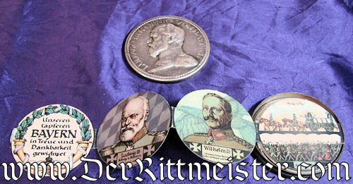 BOX THALER - BAVARIA - Imperial German Military Antiques Sale