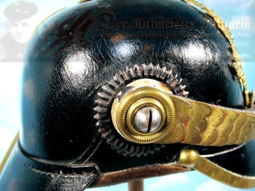 PRUSSIA - PICKELHAUBE - ENLISTED MAN/NCO - LANDWEHR-INFANTERIE-REGIMENT Nr 25 M-1871 - Imperial German Military Antiques Sale
