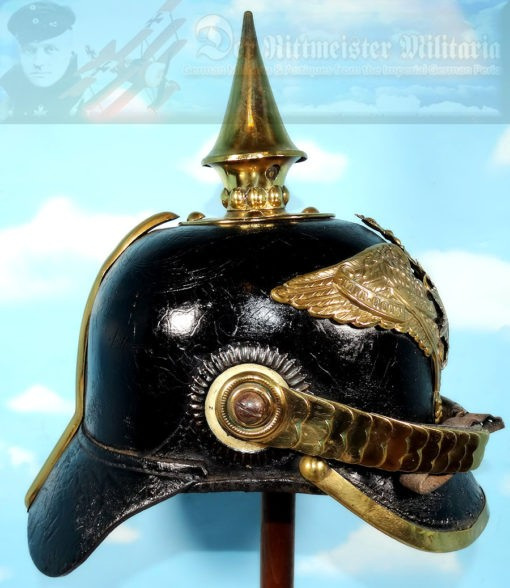 PRUSSIA - PICKELHAUBE - ENLISTED MAN/NCO - M1871 - 2. GARDE-REGIMENT zu FUß - Imperial German Military Antiques Sale