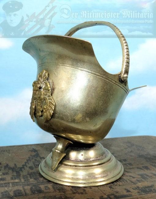 DESK PIECE  - MINIATURE PICKELHAUBE - Imperial German Military Antiques Sale