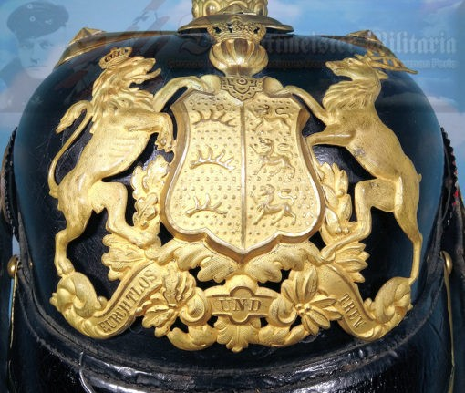 WÜRTTEMBERG - PICKELHAUBE - OFFICER - INFANTERIE LINE-REGIMENT - Imperial German Military Antiques Sale