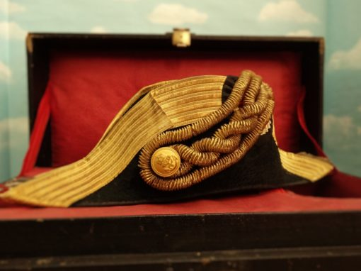 GROUPING - GROßADMIRAL HANS von KOESTER'S PERSONAL EFFECTS GROUP - INCLUDING EPAULETTES/FORE AND AFT CAP/ETC - Imperial German Military Antiques Sale