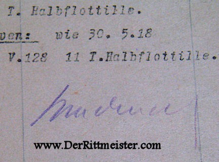 KRIEGSTAGBUCH - TORPEDOBOOTS - Imperial German Military Antiques Sale