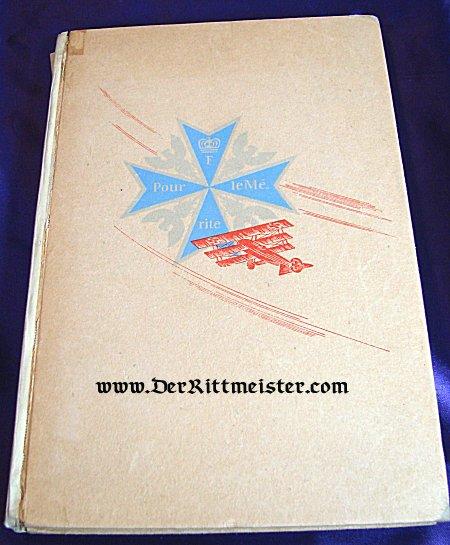 ZWEI GENERATIONEN LUFTWAFFE 1. WEGBEREITER DER LUFTFAHRT FLIEGER DES WELTKRIEGES by ROLF ROEINICH - Imperial German Military Antiques Sale