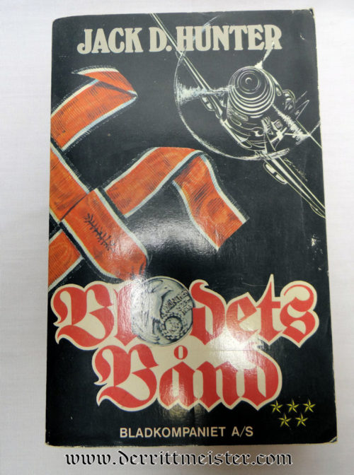 THE BLOOD ORDER (SWEDISH/NORWEGIAN EDITION) BY JACK D. HUNTER - Imperial German Military Antiques Sale