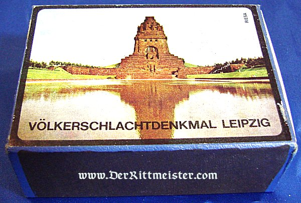 BOX OF MATCHES - VÖLKERSCHLACHTDENKMAL - Imperial German Military Antiques Sale