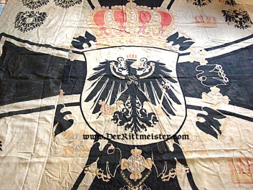 NAVAL STANDARD FOR A PRINZ OF THE HOUSE OF HOHENZOLLERN - Imperial German Military Antiques Sale