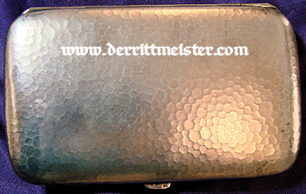 CIGARETTE CASE - PRINZ ADALBERT von PREUßEN - Imperial German Military Antiques Sale