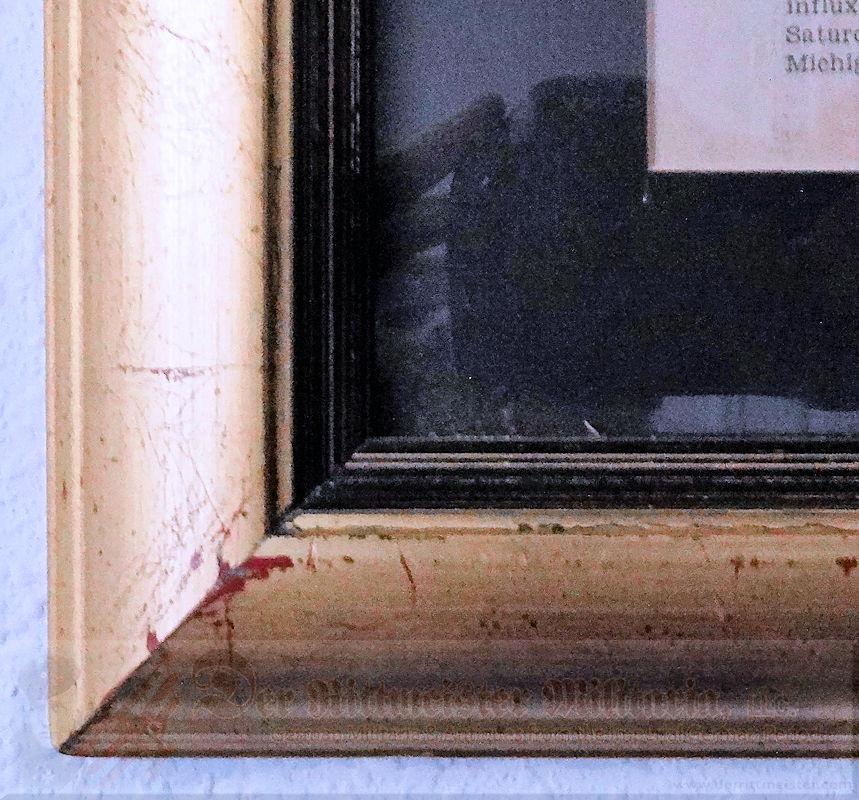 FRAMED FELIX GRAF von LUCKNER COLLECTION FROM UNITED STATES VISIT - Imperial German Military Antiques Sale