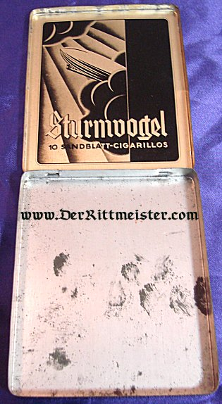 CIGARILLO BOX - ZEPPELIN THEME - Imperial German Military Antiques Sale