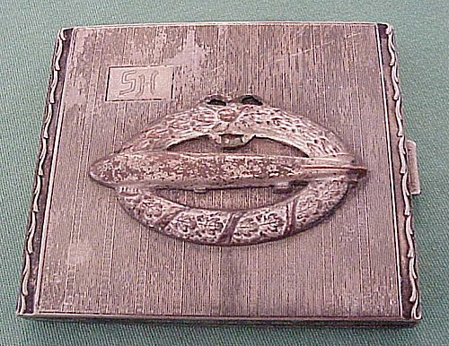 CIGARETTE CASE - ZEPPELIN - Imperial German Military Antiques Sale