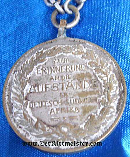 WATCH FOB - COLONIAL - Imperial German Military Antiques Sale