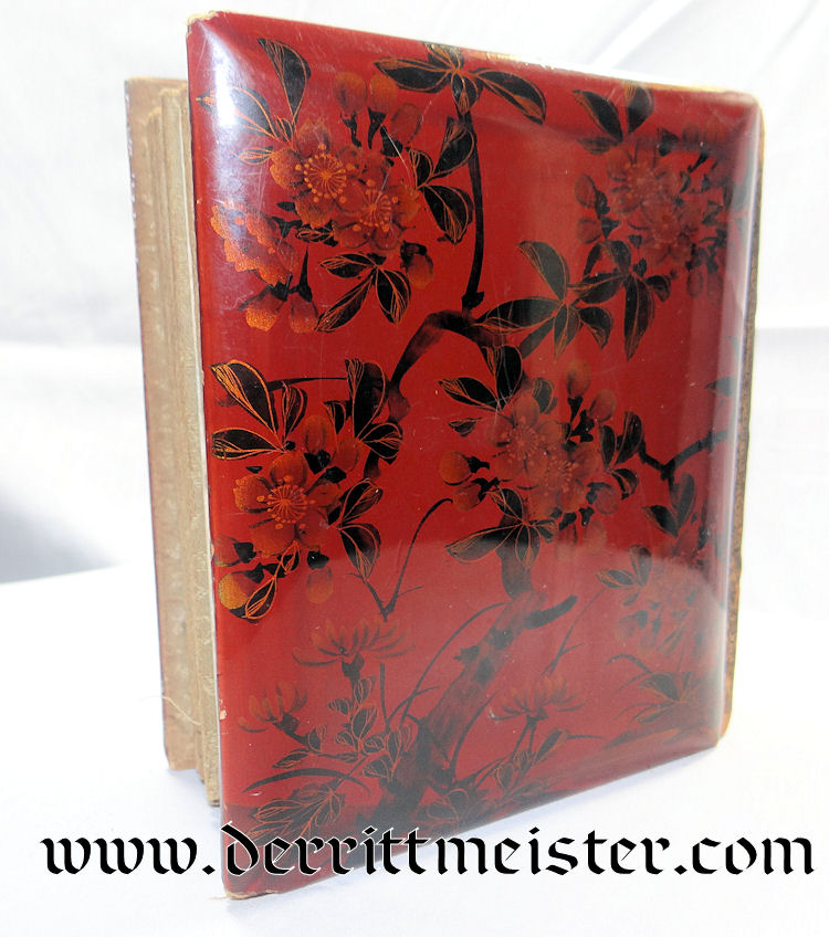 PHOTO ALBUM - JAPANESE PRODUCED COLONIAL STYLE - Imperial German Military Antiques Sale
