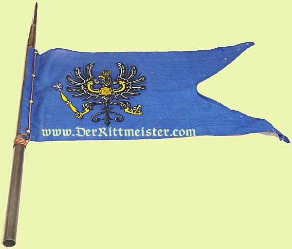 CAVALRY PENNANT AND PARTIAL LANCE - DRAGONER-REGIMENT Nr 19 - OLDENBURG - Imperial German Military Antiques Sale