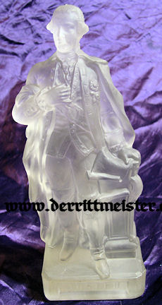 GLASS STATUE - KAISER JOSEF II - AUSTRIA - Imperial German Military Antiques Sale