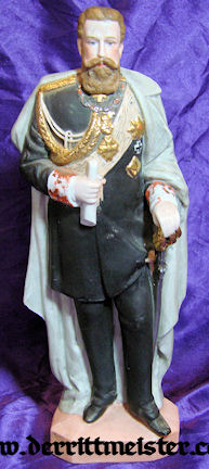 STATUETTE - KAISER FRIEDRICH III - Imperial German Military Antiques Sale