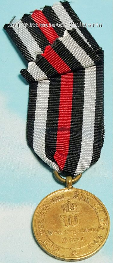 1870-1871 FRANCO-PRUSSIAN WAR COMBATANTS SERVICE MEDAL - Imperial German Military Antiques Sale