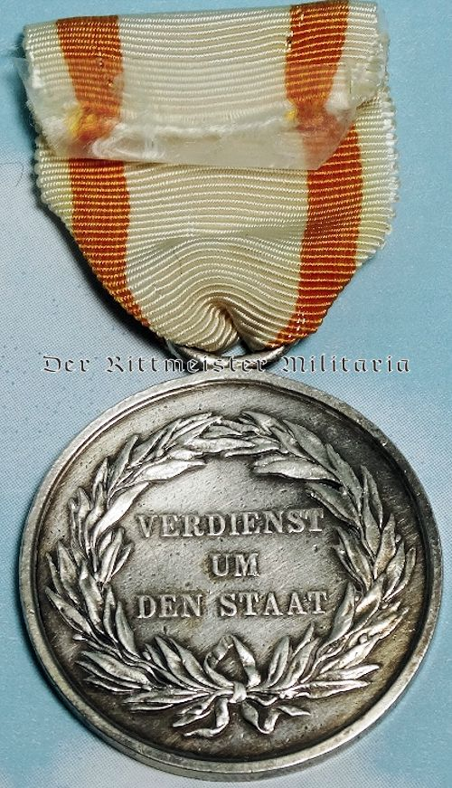 ALLGEMEINES EHRENZEICHEN MEDAL 2nd CLASS - PRUSSIA - Imperial German Military Antiques Sale