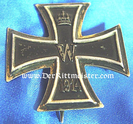 1914 IRON CROSS 1st CLASS - FIELD-ENGRAVED - Imperial German Military Antiques Sale