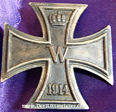 1914 IRON CROSS 1st CLASS - Imperial German Military Antiques Sale