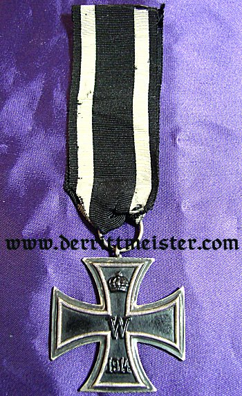 1914 IRON CROSS 2nd CLASS - HALLMARKED - Imperial German Military Antiques Sale