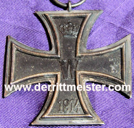1914 IRON CROSS 2nd CLASS - Imperial German Military Antiques Sale