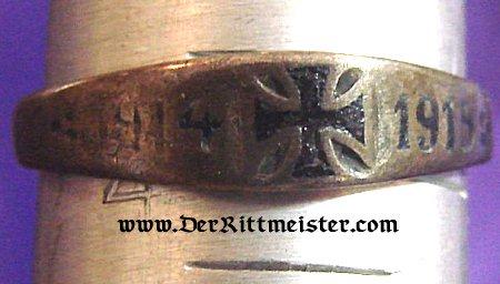 German Iron Cross Ring