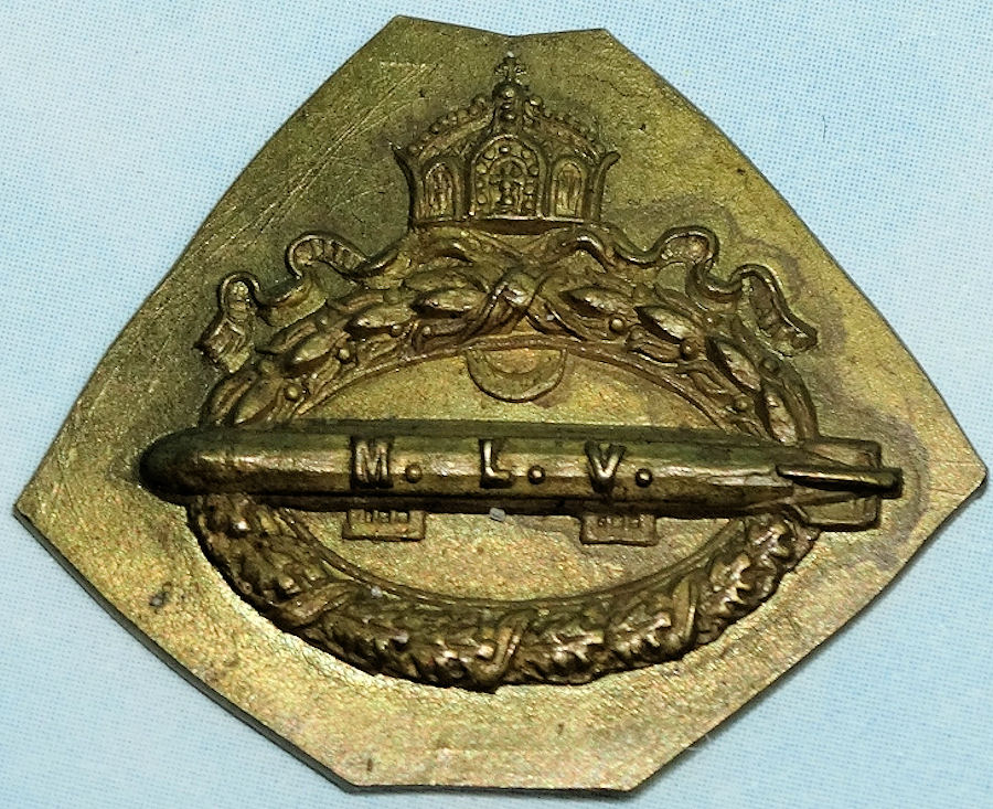 NAVY LUFTSCHIFFER ASSOCIATION MEDALLION - Imperial German Military Antiques Sale
