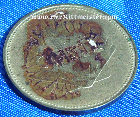 TABLE MEDAL - GRAF ZEPPELIN - Imperial German Military Antiques Sale