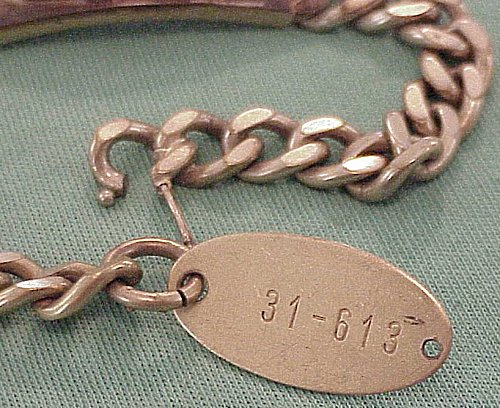 ID BRACELET FOR A ZEPPELIN - Imperial German Military Antiques Sale