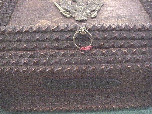 PATRIOTIC BOX FOR THE ZEPPELIN SERVICE - Imperial German Military Antiques Sale