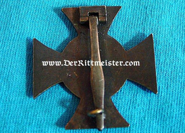 1914 FRIEDRICH CROSS 1st CLASS - ANHALT - Imperial German Military Antiques Sale