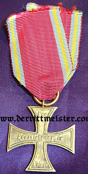 1870 MILITARY SERVICE CROSS 2nd CLASS - NON COMBATANTS (NICHT KAMPFER) - PRINZENGROßE - MECKLENBURG-SCHWERIN - Imperial German Military Antiques Sale