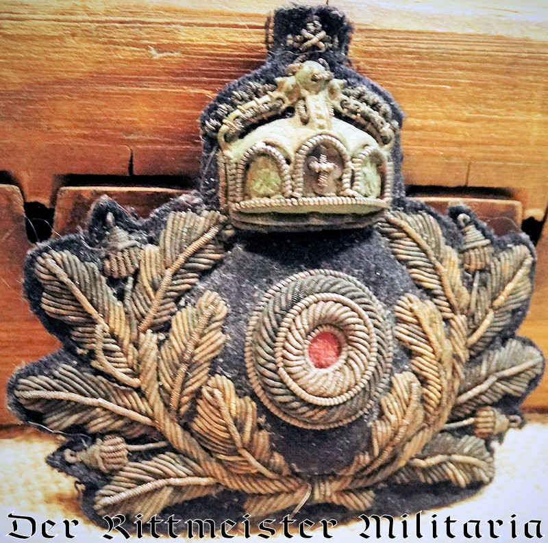 IMPERIAL GERMAN NAVY OFFICER'S CAP BADGE - Imperial German Military Antiques Sale