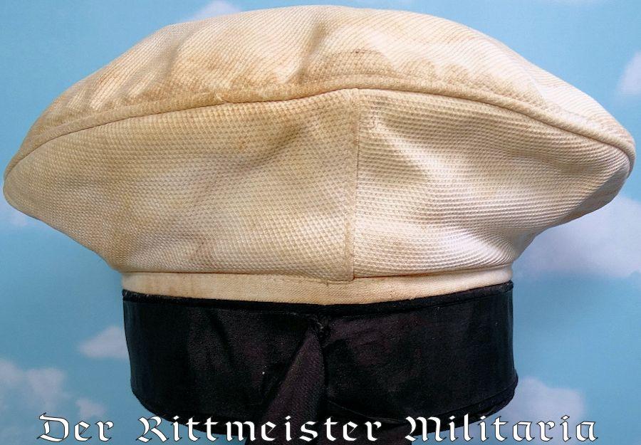 PRUSSIA - SCHIRMÜTZE - ENLISTED MARINE-FLIEGER-ABTEILUNG SAILOR - Imperial German Military Antiques Sale