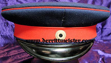 PRUSSIA - SCHIRMÜTZE - OFFICER - PRINZ/KRONPRINZ/KAISER WILHELM II - Imperial German Military Antiques Sale