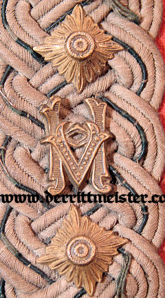 OBERST SINGLE SUBDUED SHOULDER BOARD - AUSTRIA - Imperial German Military Antiques Sale