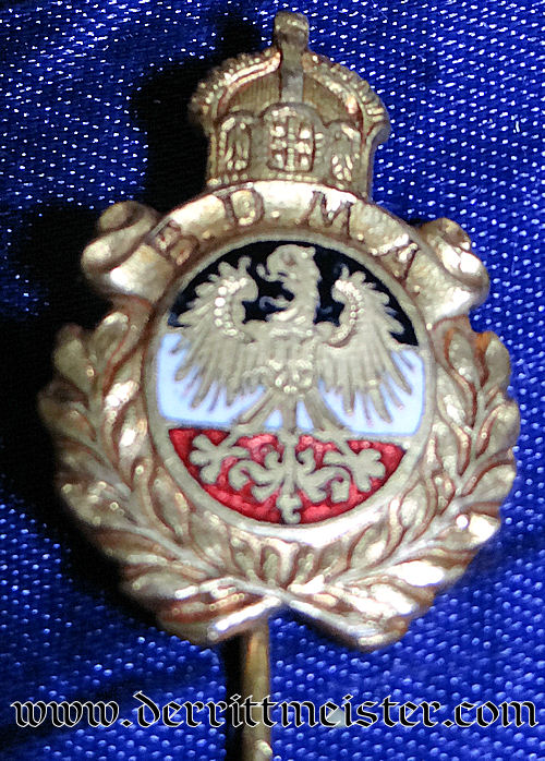 B.D.M.A. STICKPIN - Imperial German Military Antiques Sale