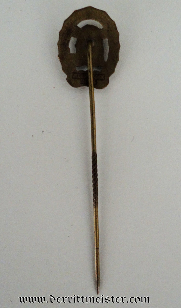 WEIMAR REPUBLIC DRL SPORTS BADGE STICKPIN - Imperial German Military Antiques Sale