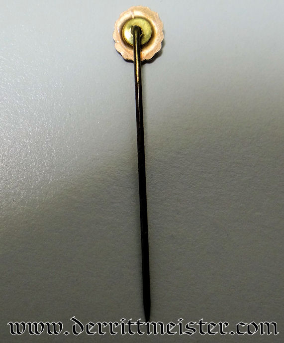 GOLD NAVY WOUND BADGE STICKPIN - Imperial German Military Antiques Sale