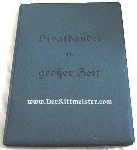 VIVAT COLLECTING ALBUM - Imperial German Military Antiques Sale