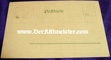 COLOR POSTCARD - KAISER WILHELM I - Imperial German Military Antiques Sale
