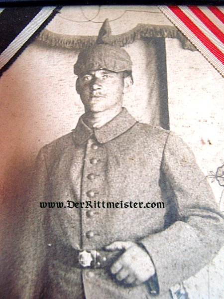 FRAMED PHOTOGRAPH - MECKLENBURG-SCHWERIN INFANTERIE-REGIMENT - Imperial German Military Antiques Sale