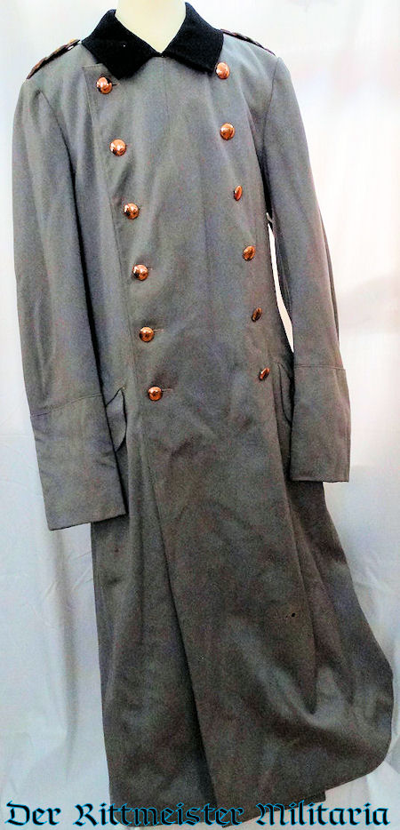 HERZOG ERNST AUGUST'S HUSAREN-REGIMENT Nr 17 GENERALMAJOR PALETOT (OVERCOAT) - BRAUNSCHWEIG - Imperial German Military Antiques Sale