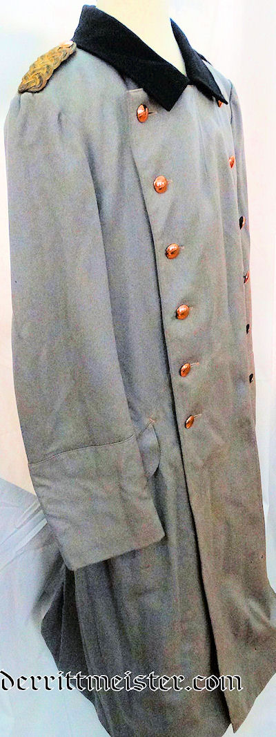 HERZOG ERNST AUGUST'S HUSAREN-REGIMENT Nr 17 GENERALMAJOR PALETOT (OVERCOAT) - BRAUNSCHWEIG - Imperial German Military Antiques Sale