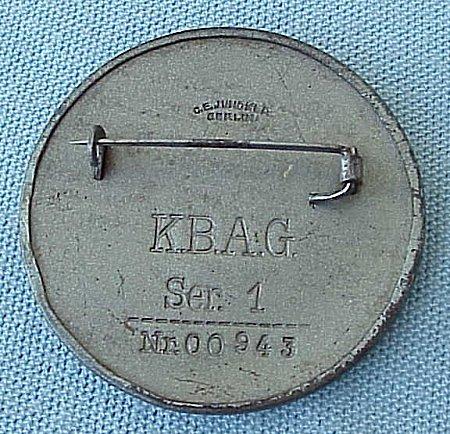 VETERANS'S PIN - VATERLANDISCHER HILFSDIENST - Imperial German Military Antiques Sale