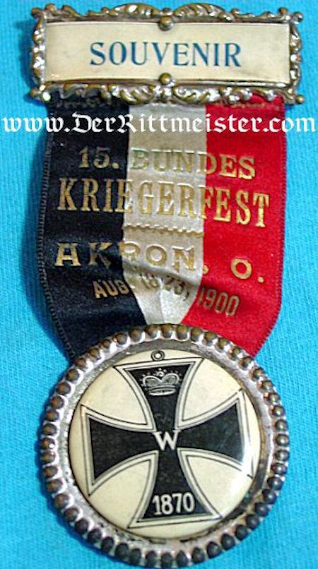 PATRIOTIC PIN - FRANCO-PRUSSIAN WAR - Imperial German Military Antiques Sale