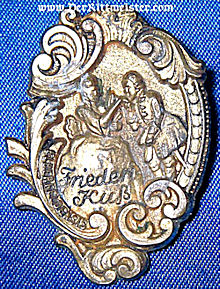 UNIDENTIFIED CIVILIAN BADGE - Imperial German Military Antiques Sale