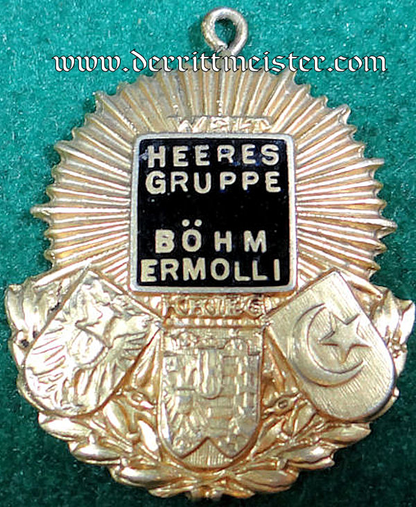 AUSTRIAN  - VETERAN'S BADGE - HEERES GRUPPE BÖHM-ERMOLLI - Imperial German Military Antiques Sale