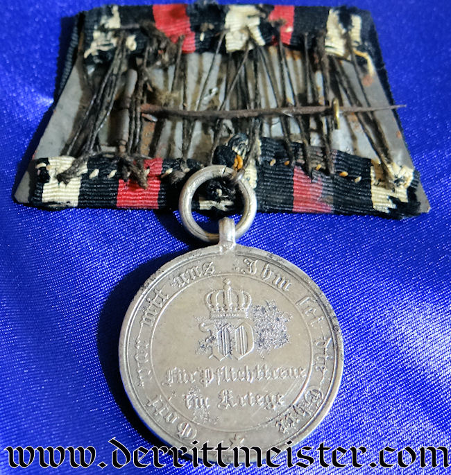 MEDAL BAR - ONE PLACE - 1870-1871 NON COMBATANTS WAR MEDAL - Imperial German Military Antiques Sale